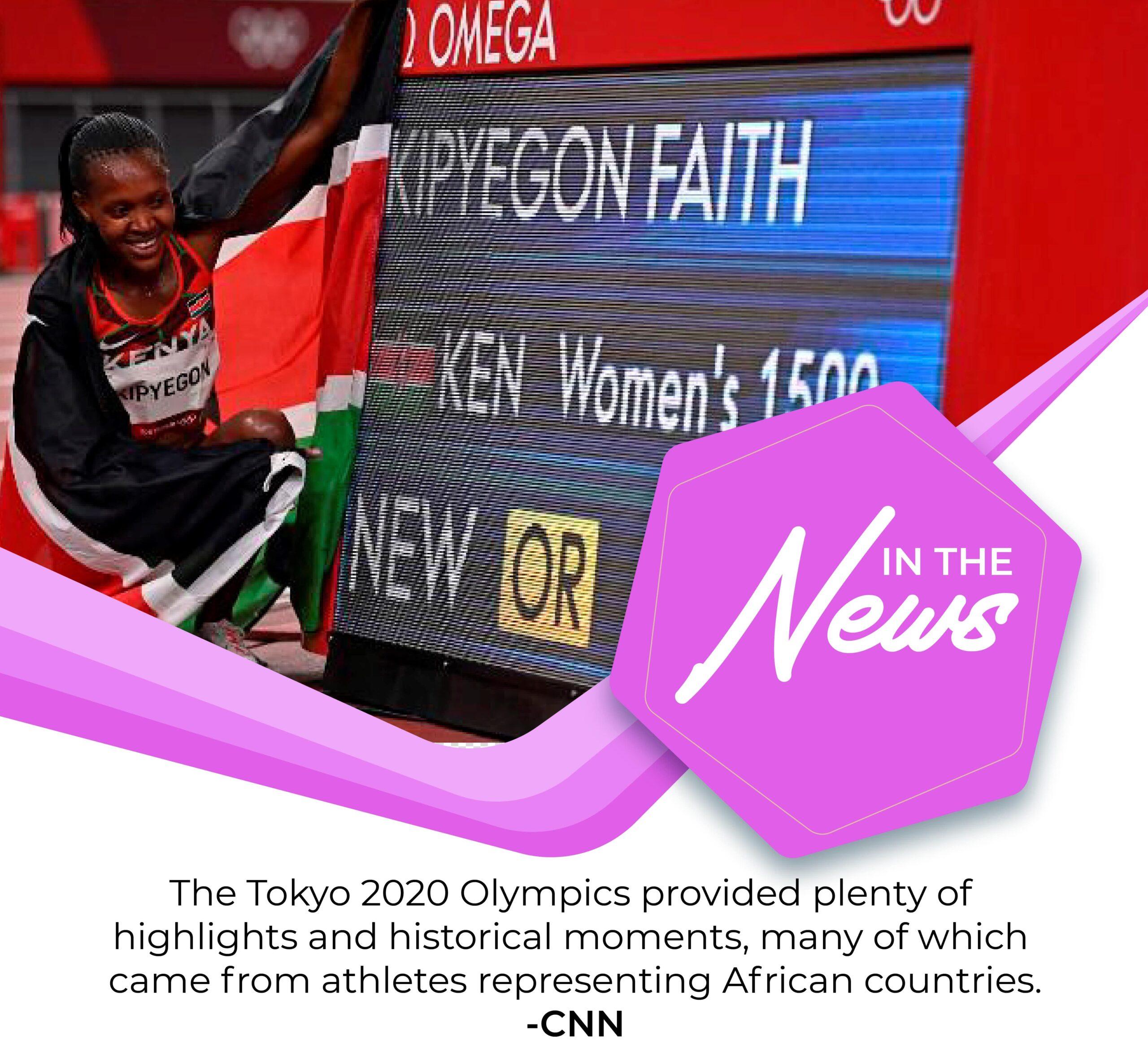 African athletes made history at Tokyo 2020